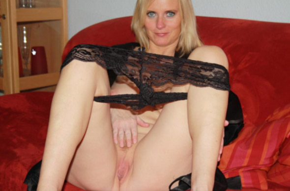 blonde Milf Swinger Fotze